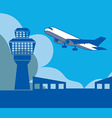 Airport Background vector image