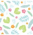 fun tropical summer hawaiian seamless vector image
