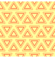 Tribal yellow seamless pattern vector image