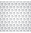 Golf ball seamless pattern vector image