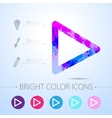 watercolor icon vector image