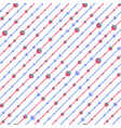 red and blue texture vector image