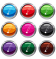 ink with pen set 9 collection vector image