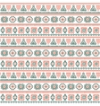Tribal vintage ethnic pattern seamless vector image vector image