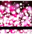 Neon Banner vector image vector image