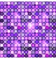 Abstract violet circles seamless pattern vector image