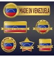 made in Venezuela vector image
