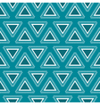 Tribal blue seamless pattern vector image
