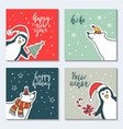 a greeting card happy new vector image