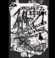 Grunge graffiti vector image