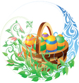 Easter related composition vector image