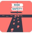 Safe choice vector image