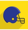 american football helmet vector image
