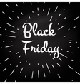 Black Friday -typographic design vector image