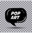 pop art comics vector image