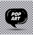 pop art comics vector image