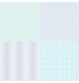 Guilloche wavy textures for diplomas vector image