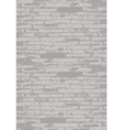 grey brick wall vector image vector image