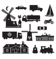 silhouette - miscellaneous vector image vector image