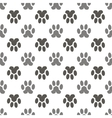 Seamless Cat Animal Paw Pattern vector image