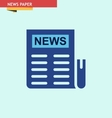 NEWS-PAPER vector image