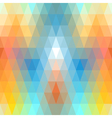 Mosaic symmetric seamless vector image vector image