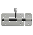 latch isolated on white background vector image vector image