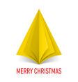 MERRY CHRISTMAS Corner paper 24 vector image vector image
