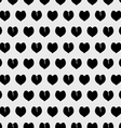 Abstract pattern from hearts vector image