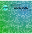 Abstract hexagon seamless pattern background for vector image