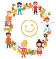 Fun kids activities vector image