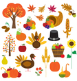 Thanksgiving clipart vector image