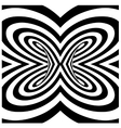Spiral twister vector image vector image