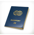 Passport icon vector image vector image
