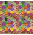 stripes patchwork vector image vector image