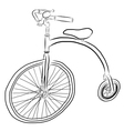 bicycle3 vector image
