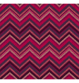 Pink Knit Texture Pattern vector image