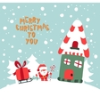 Merry Christmas To You vector image