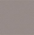 Black small and big circles pattern vector image
