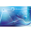 blue business background vector image vector image