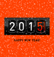 New Year 2015 counter vector image vector image