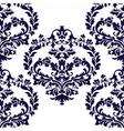 Floral luxury ornament pattern vector image