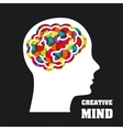 creative mind vector image