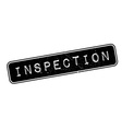 Inspection rubber stamp vector image