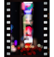 Time Square lights vector image vector image