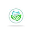 Dent logo vector image