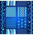 Seamless dark gray-blue pattern vector image vector image