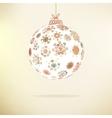 Retro Christmas background EPS8 vector image