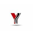 Letter Y logo icon design template elementsLetter vector image