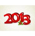 2013 newyear vector image